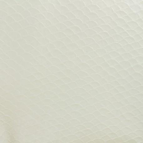 Imitation leather Dragon - white x 10cm