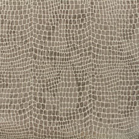Simili cuir Aligator - beige x 10cm