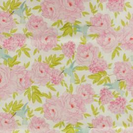 Tissu coton Tilda LemonTree collection - Hummingbird crème x 10cm