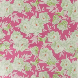 Tilda LemonTree collection cotton fabric - Flowerfield plum x 10cm