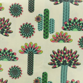 Coated cotton fabric - Atacama multi x 17cm