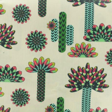 Tissu coton enduit - Atacama multi x 15cm