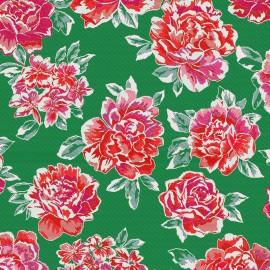 Jacquard Canvas Fabric Sumatra - outremer x 55cm