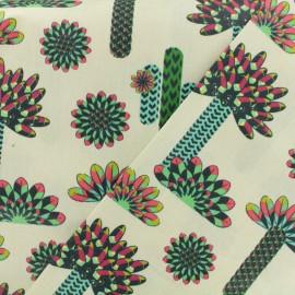 Tissu cretonne  - Atacama multi x 17cm