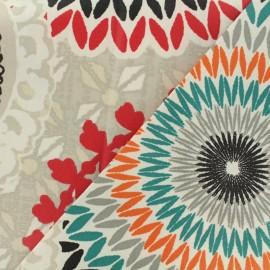 Tissu coton enduit - Colima ficelle x 64,5cm