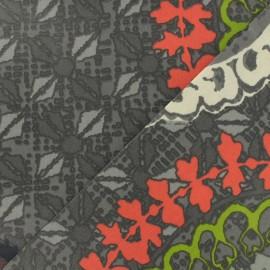 Tissu coton enduit - Colima multi x 64,5cm