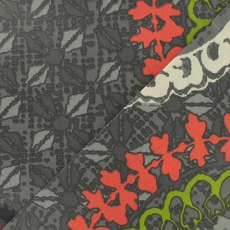 Tissu coton enduit - Colima multi x 50cm
