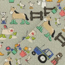 Creton fabric - Octave x 16cm