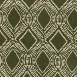 Tissu Oeko-Tex Polycoton Linnen - vert tilleul x 10cm
