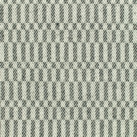 Woven cotton fabric Checkerboard - black and white  x 10cm