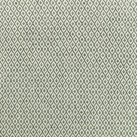 Tissu Coton tissé Médaillon - noir et blanc x 10cm