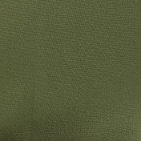 Tissu Oeko-Tex Toile plein air - sauge x 10cm