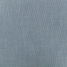 Outdoor Mottled canvas fabric - dark blue x 10cm