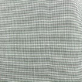 Tissu Toile plein air uni (320cm) chiné - granit x 10cm