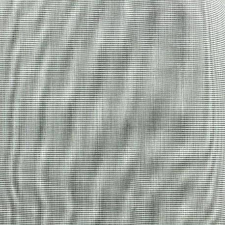 Tissu Oeko-Tex Toile plein air 320cm chiné - granit x 10cm