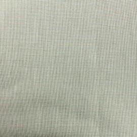 Tissu Toile plein air Dralon® uni (320cm) - tabac chiné x 10cm