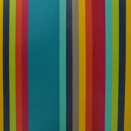 Tissu plein air enduit Sunny Samba (160cm) - anis x 10cm