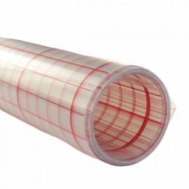 Polyphane transparent adhésif 30/100 quadrillé  x 10 cm