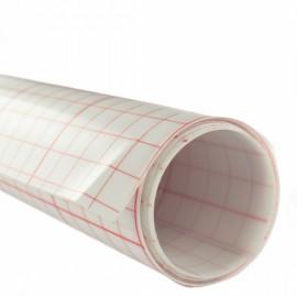 Adhesive styrene 30/100 white x 10 cm