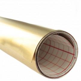 Adhesive styrene 30/100 gold/white x 10 cm