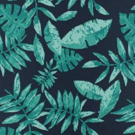 Tissu déperlant short de bain tropical x 10cm
