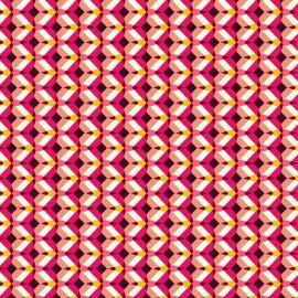 Tissu coton cretonne Kheops - fushia x 10cm
