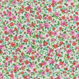 Cretonne cotton Fabric Lise - poppy x10cm
