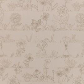 Tissu coton Rico Design Hygge Cactier - rose x 10cm