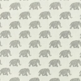 Africa light linen viscose fabric - natural x 10cm