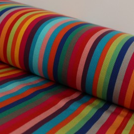 Tissu Toile Transat Playa Pampelonne - anis x 10cm