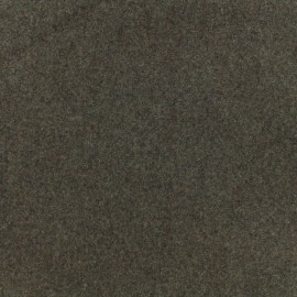 Tissu drap de laine - crème de marron x 10cm