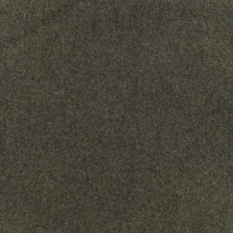 Wool broadcloth fabric - chestnut cream x 10cm