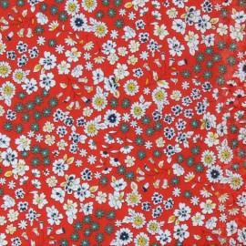 Tissu voile de coton Froufrou Les Fleuris - tulipe x10cm