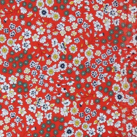 Les Fleuris Froufrou cotton veil - tulip x10cm