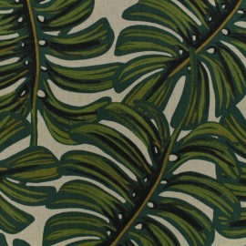 Cotton fabric Cotton Steel Rifle Paper Co. - Menagerie - tiger x 30cm