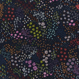 Cotton fabric Cotton Steel Collaborative collection. - Solid lawn - dark night x 10cm