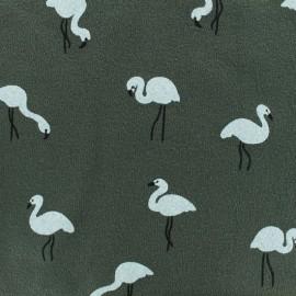 Textured light sweater White flamingo - khaki x 10cm