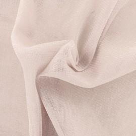 Tulle souple lurex rose - argent x10cm