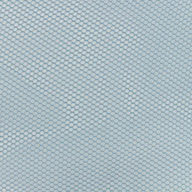 Mesh fabric - blue denim x 10cm