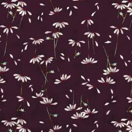 AGF cotton fabric He loves me - Plum x 10cm