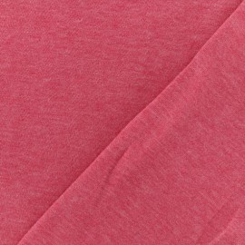 Oeko-Tex mocked light sweat fabric - strawberry x 10cm