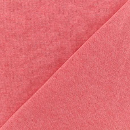 Oeko-Tex mocked light sweat fabric - blue x 10cm