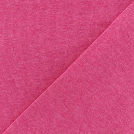 Oeko-Tex mocked light sweat fabric - camellia x 10cm