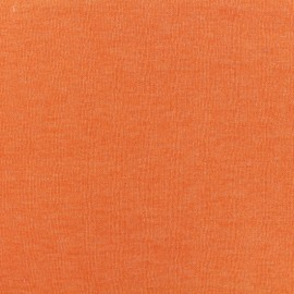 Oeko-Tex mocked light sweat fabric - clementine x 10cm