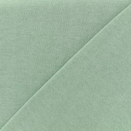 Tissu sweat léger chiné - eau sauvage x 10cm