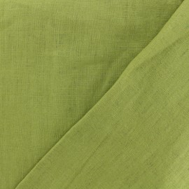 Washed Linen (135cm) Fabric - avocado x 10cm