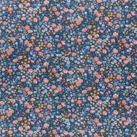 Tissu Liberty - phoebe and jo A bleu x 10cm