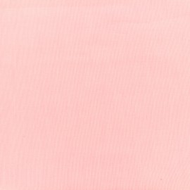 Tiny Stripes Embroidered Cotton voile Fabric - pink x 10cm