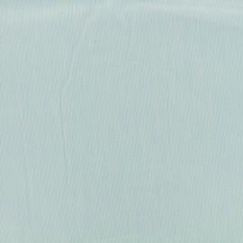 ♥ Coupon tissu 40 cm X 140 cm ♥ voile de coton Tiny Stripes - bleu ciel