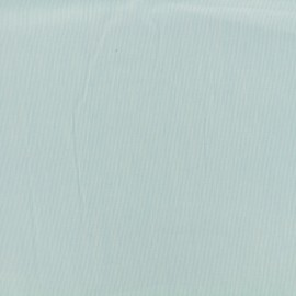 Tiny Stripes Embroidered Cotton voile Fabric - blue x 10cm